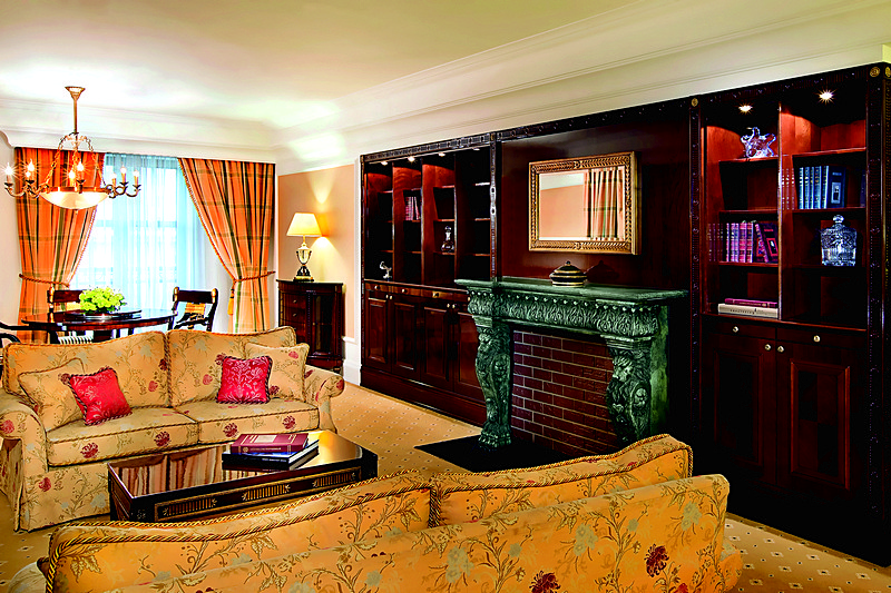 Carlton Suite at Ritz-Carlton Hotel in Moscow, Russia