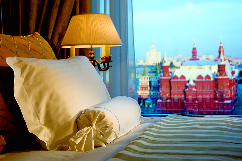 Ritz-Carlton Suite at Ritz-Carlton Hotel in Moscow, Russia