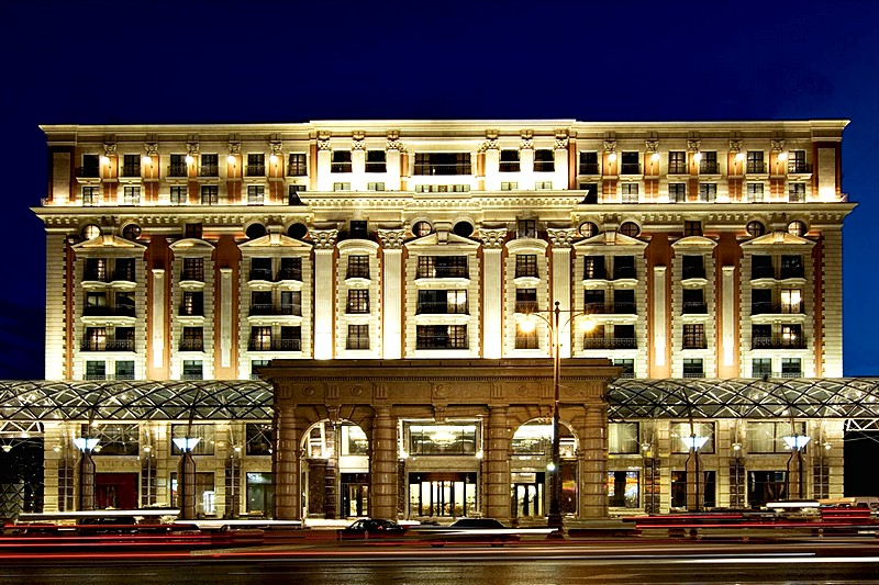Ritz-Carlton Hotel in Moscow, Russia