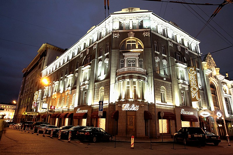 Savoy hotel small luxury hotel in central moscow for Small historic hotels