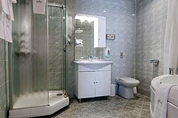 Two Room Suite Bathroom at Tatiana Hotel in Moscow, Russia