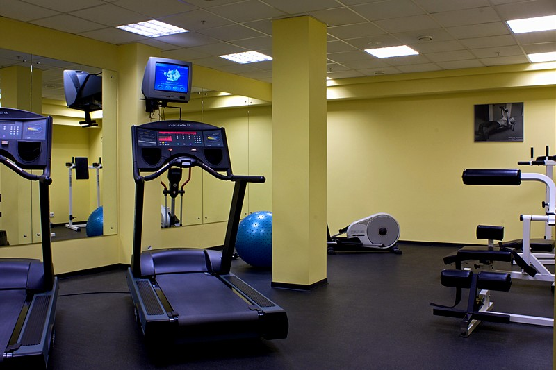 Fitness at Tatiana Hotel in Moscow, Russia