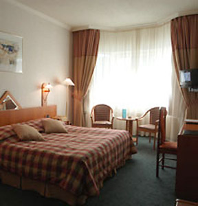 Standard Double Room at the Proton Business Hotel in Moscow, Russia