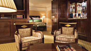 Excecutive Suite at Ritz Carlton Hotel in Moscow, Russia