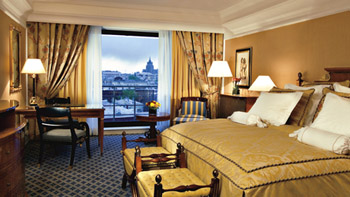 Superior Double Room at Ritz Carlton Hotel in Moscow, Russia